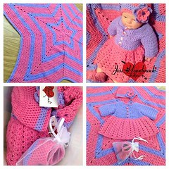 """Crochet Baby Set • <a style=""""font-size:0.8em;"""" href=""""http://www.flickr.com/photos/66263733@N06/11371713234/"""" target=""""_blank"""">View on Flickr</a>"""