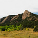 Flatirons near Boulder, Colorado