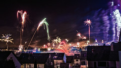 Fireworking - Happy New Year 2014 (ClawX) Tags: show sky night canon germany fire photo shoot display fireworks smoke nye year newyear celebration midnight 7d newyearseve nightsky pyro countdown celebrate pyrotechnics 2014 schwieberdingen 2013 clawx