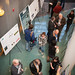 The Climate Science Center grand opening included a poster session.