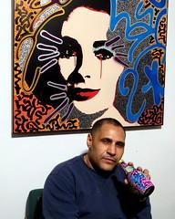 LA2 as seen Friday in the East Village (LoisInWonderland) Tags: portrait art graffiti la2 laroc angelortiz