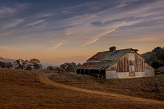 Washburn Barn, Sunset, #17 (andertho) Tags: santa clara county sunset barn landscape cool nikon dusk uncool d800 josephdgrant cool2 cool5 cool3 cool6 cool4 josephdgrantcountypark cool7 pwlandscape uncool2 uncool3 uncool4 uncool5 iceboxcool