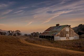 Washburn Barn, Sunset, #17