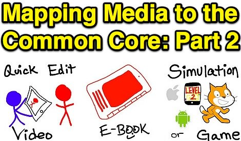 Mapping Media to the Common Core: Part 2 by Wesley Fryer, on Flickr
