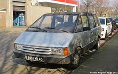 Renault Espace 1986 (XBXG) Tags: auto old france classic netherlands car vintage french automobile utrecht nederland voiture renault 1986 paysbas espace ancienne mpv franaise renaultespace