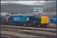 Heavyweight Rebirth (Resilient741 Photography) Tags: 3 tractor english electric train railway class type british locomotive 37 railways rare freight growler syphon drs 37716