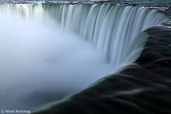 Niagara Falls (Nitish_Bhardwaj) Tags: fall water waterfall long exposure niagara falls horsehoe vision:sky=0836