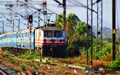 WAP-5 30006 enter vangaon with fzr janata exp (akshaypatil™ ® photography) Tags: premium highspeed exp fzr rajdhani janata 22913 30006 wap5 vangaon