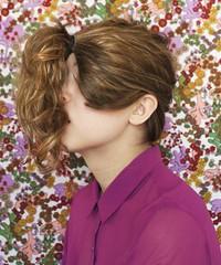 (ally morris) Tags: portrait floral self hair nikon retro portraiture thesis ponytail process d7000