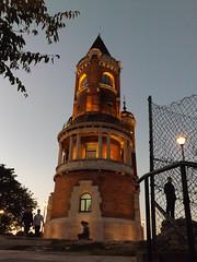 Tower Gardo (creepyweirdslove) Tags: tower beautiful night bug lights serbia tall srbija zemun
