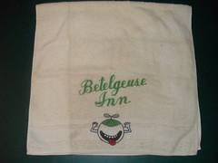 Betelgeuse Inn Towel (John Chanaud) Tags: towel thehitchhikersguidetothegalaxy