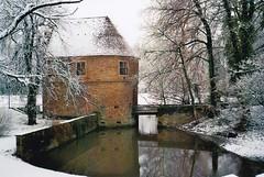 Torhaus II (Turikan) Tags: schnee winter olympus xa2 200 dortmund torhaus rossmann romberg