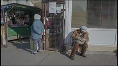 . (OverdeaR [donkey's talking monkey's nodding]) Tags: street film candid belgrade beograd bg srbija c41 socijala