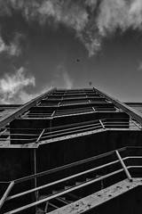 escape (mark letheren photography) Tags: architecture stairs bristol fireescape