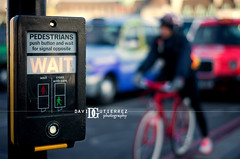 Street of London in Bokeh (davidgutierrez.co.uk) Tags: street city uk england london art colors bike photography 50mm europe photographer traffic pentax bokeh taxi londres streetoflondon davidgutierrez londonphotographer davidgutierrezphotography pentaxk5iis