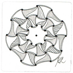 Circular Huggins 2 (Amaryllis Creations) Tags: mandala zentangle zendala