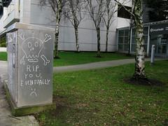 Yep-RIP Eventually (prima seadiva) Tags: death skull graffiti die rip 15th capitolhill grouphealth