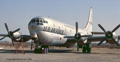 53-0272 - 1953 fiscal Boeing C-97G Stratofreighter, still displayed at Lancaster Fox Field (egcc) Tags: lancaster boeing usaf usairforce foxfield c97 3272 17054 caang wjf stratofreighter kwjf californiaairguard 530272 c97g 030272