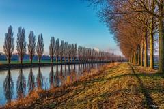 En long et en large (musette thierry) Tags: nikon eau belgique thierry fleuve d600 tournai lescaut musette