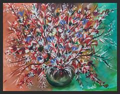 Colors of Life (ramesh.rasaiyan) Tags: painting acrylic colorsoflife rameshrasaiyan