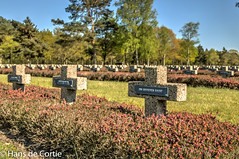 German Military Cemetry WWII (Hans de Cortie) Tags: belgi be vlaanderen lommel