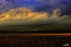 La Vega de El Viso del Alcor. (mjoaquinm) Tags: blue sunset sky storm clouds landscape outdoors 50mm spring twilight nikon open wind air bluesky paisaje crepsculo contryside nikonistas
