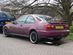 1997 Honda Civic Coup (harry_nl) Tags: netherlands honda nederland civic coup nieuwegein 2016 sidecode5 ntbb01