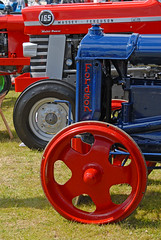 Tractor Detail 023 - Tayside Classic Car Show 2015 (john_mullin) Tags: tractor classic vintage scotland farm farming transport perthshire scottish vehicles perth classics veteran tractors tayside errol
