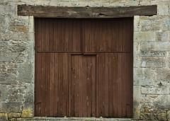 BarnDoor_MG_0096 (AndroTravel) Tags: door wood old france stone barn farm bucolic quercy