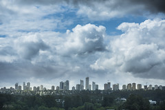 A ray of sun on Metrotown (Russ Beinder) Tags: canada skyline clouds 1 bc burnaby metrotown geolocation 85mmf14 geocity geocountry camera:make=nikoncorporation exif:make=nikoncorporation exif:lens=850mmf14 geostate exif:aperture=28 exif:focallength=85mm exif:isospeed=64 exif:model=nikond810 camera:model=nikond810 geo:lat=49264980555555 geo:lon=12299840833333