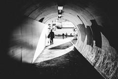 light cone (.mdb) Tags: life street light urban contrast zeiss 50mm switzerland fuji candid zurich streetphotography tunnel fujifilm zrich 32mm xpro1
