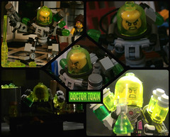 Doctor Toxin - Biography (jgg3210) Tags: toxic comic lego dr doctor comicbook perry loh toxin minifigure moc supervillain minifigures oddick leagueofheroes