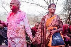 Barsana Nandgaon Lathmar Holi Low res (50 of 136) (Sanjukta Basu) Tags: holi festivalofcolour india lathmarholi barsana nandgaon radhakrishna colours