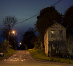 Shadows Are On Your Side ( estatik ) Tags: new old railroad panorama house 3 abandoned three long exposure alone streetlights neglected nj bridges ave jersey weathered duranduran avenue thursday duran thurs 5516 may52016