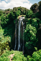 Marmore Waterfall (Luigi Pica) Tags: flower detail nature landscape waterfall exploring drop pica luigi umbria marmore cascate