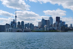 Polson Pier (Marcanadian) Tags: city lake toronto ontario canada building water june skyline architecture port pier spring downtown waterfront lands 2016 polson