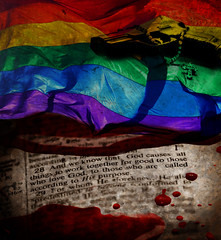 altered: and we know (hoolia14oh4) Tags: orlando blood religion pride lgbt hate violence bible scriptures extremism