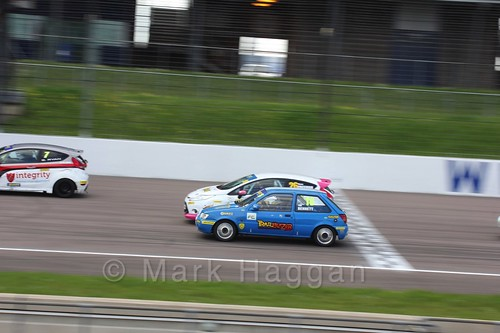 BRSCC Fiesta Championship at Rockingham, May 2016