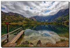 Lake Offensee (Fraggle Red) Tags: lake mountains clouds reflections austria österreich jetty oberösterreich hdr upperaustria totesgebirge offensee 7exp canonef1635mmf28liiusm dphdr canoneos5dmarkiii 5d3 5diii adobephotoshopcc adobelightroomcc