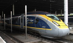 Eurostar: 4012 St. Pancras International (emdjt42) Tags: london eurostar 4012