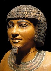 Ancient Egypt. Imhotep, 26502600 BC, was one of the chief officials of Pharaoh Djoser. He's been considered the first architect, engineer and physician of the early history. (mike catalonian) Tags: ancientegypt 2600bc imothep 2650bc