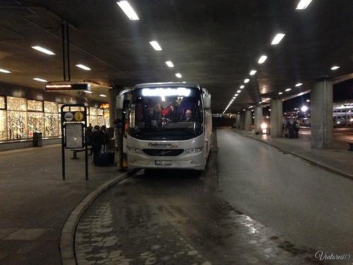 Flygbussarna. Stockholm. Sweden