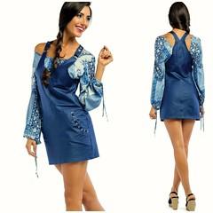 "Blusa ""Zumbi Urban Glamour"" ref: BLV1610 ( comprar aqui: http://tinyurl.com/zgvs6nj ) Saia Jard, ""Zumbi Urban Glamour"" ref: JSV1638 ( comprar aqui: http://tinyurl.com/jgq33nj ) Disponvel tambm nas lojas de Vila Nova de Gaia e So Joo da Madeira e na lo (pauloneves866) Tags: blue white look fashion spring skirt blouse gifts trendy trend newcollection springcollection zumbiurbanglamour"