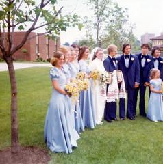 1976-06-19 Paul & Raisa Seliske wedding 2 (JoeSeliske) Tags: wedding ontario london church june st john paul catholic roman divine 19 rc 1976 raisa seliske