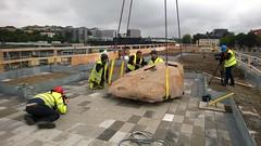 Art at Vrtaterminalen (skumroffe) Tags: art port harbor artwork sweden stockholm harbour konst hamn vrtahamnen konstverk siljaterminalen vrtan vrtapiren vrtaterminalen