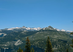 Tree Line (Garden State Hiker) Tags: california mountains nature landscape outdoors nationalpark hiking sunny bluesky hike clear yosemite yosemitenationalpark treeline hikes sierranevadas sierranevadamountains panoramatrail illilouettetrail