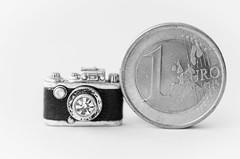 Smaller than a coin (hjuengst) Tags: camera blackandwhite macro coin mm makro hmm kamera mnze schwarzweis thomassabo macromondays smallerthanacoin