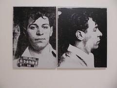 Andy Warhol - Most Wanted Men No. 12, Frank B. (c_nilsen) Tags: sanfrancisco california portrait art museum digital sfmoma silkscreen andywarhol digitalphoto sanfranciscomuseumofmodernart