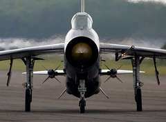 Lightning (Bernie Condon) Tags: vintage fighter military lightning preserved raf coldwar warplane bac interceptor supersonic englishelectric bruntingthorpe