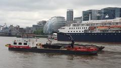 Scheldemond I and II (sarflondondunc) Tags: london pooloflondon riverthames workbarge herboschkiere livetts scheldemondi scheldemondii